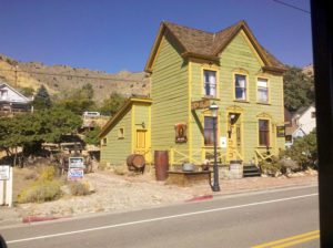 Photo of house in Virginia City