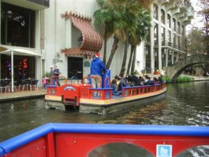Photo of tour boat on Riverwalk