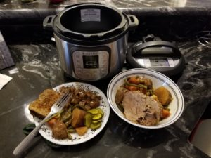 Instant Pot and meal